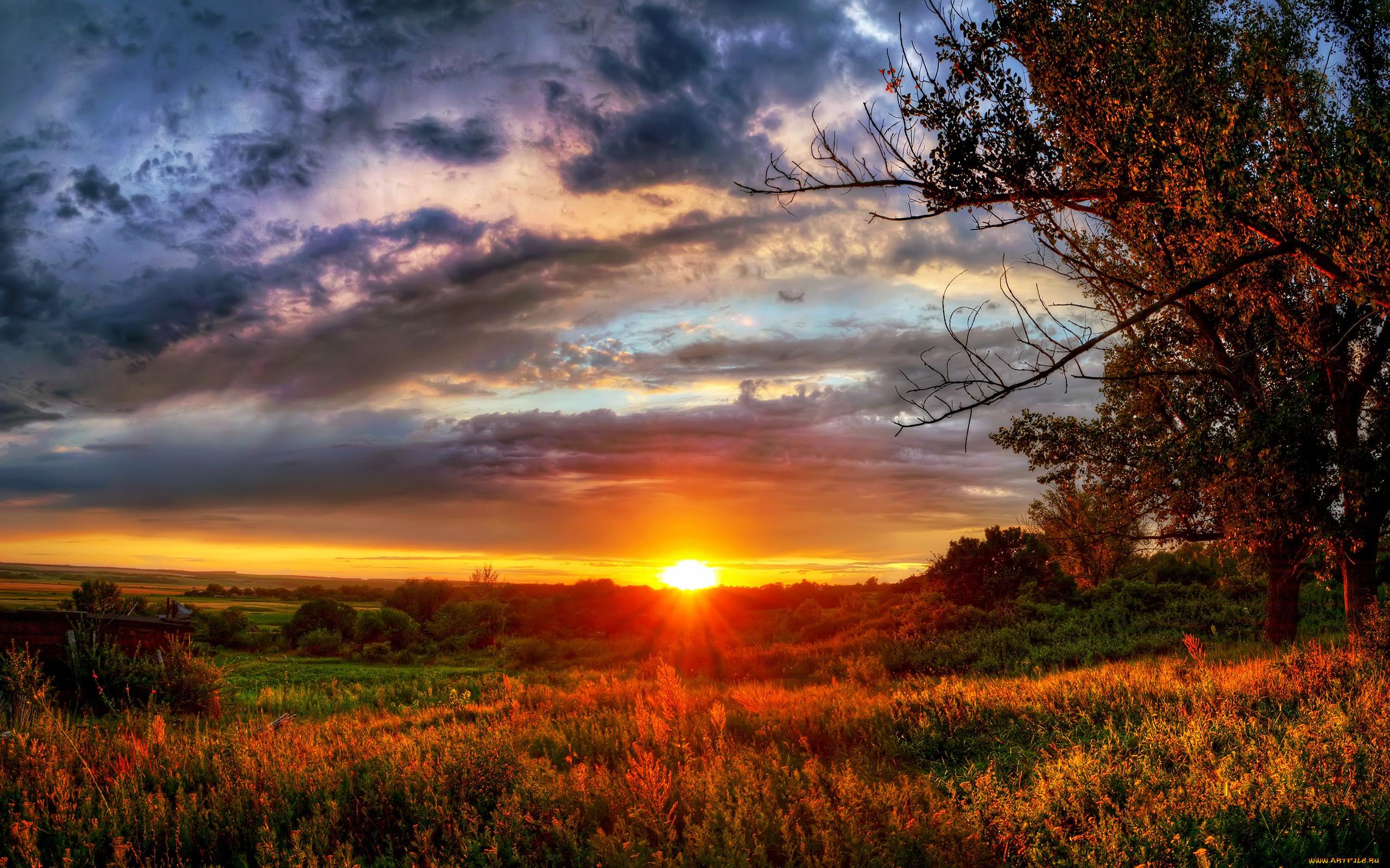 картинки природа закаты как его видит